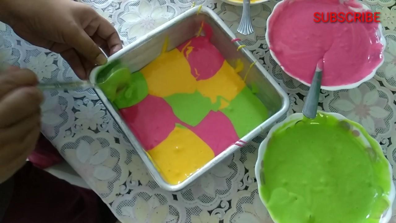 kek marble kukus warna warni  gebu  mudah Resepi Kek Coklat Vico Enak dan Mudah