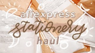 ✨��HUGE ALIEXPRESS STATIONERY HAUL 2019 �✨