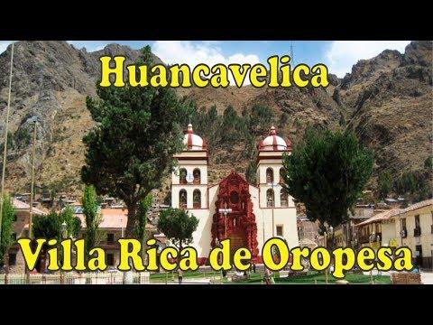 Huancavelica - Villa Rica De Oropesa - La Tierra Del Mercurio
