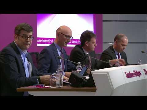 Bilanzpressekonferenz für das Geschäftsjahr 2017 – Tim Höttges