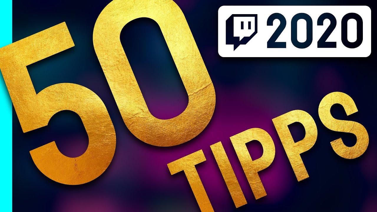 Twitch Tipps