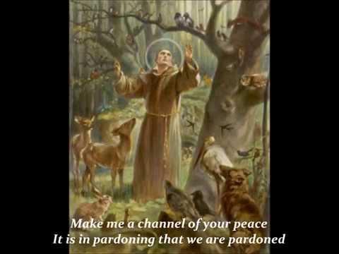 Prayer Of St. Francis (with lyrics)
