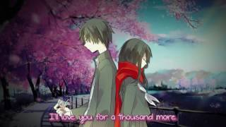 Repeat youtube video 【Nightcore】→ A Thousand Years ( Switching Vocals ) || Lyrics