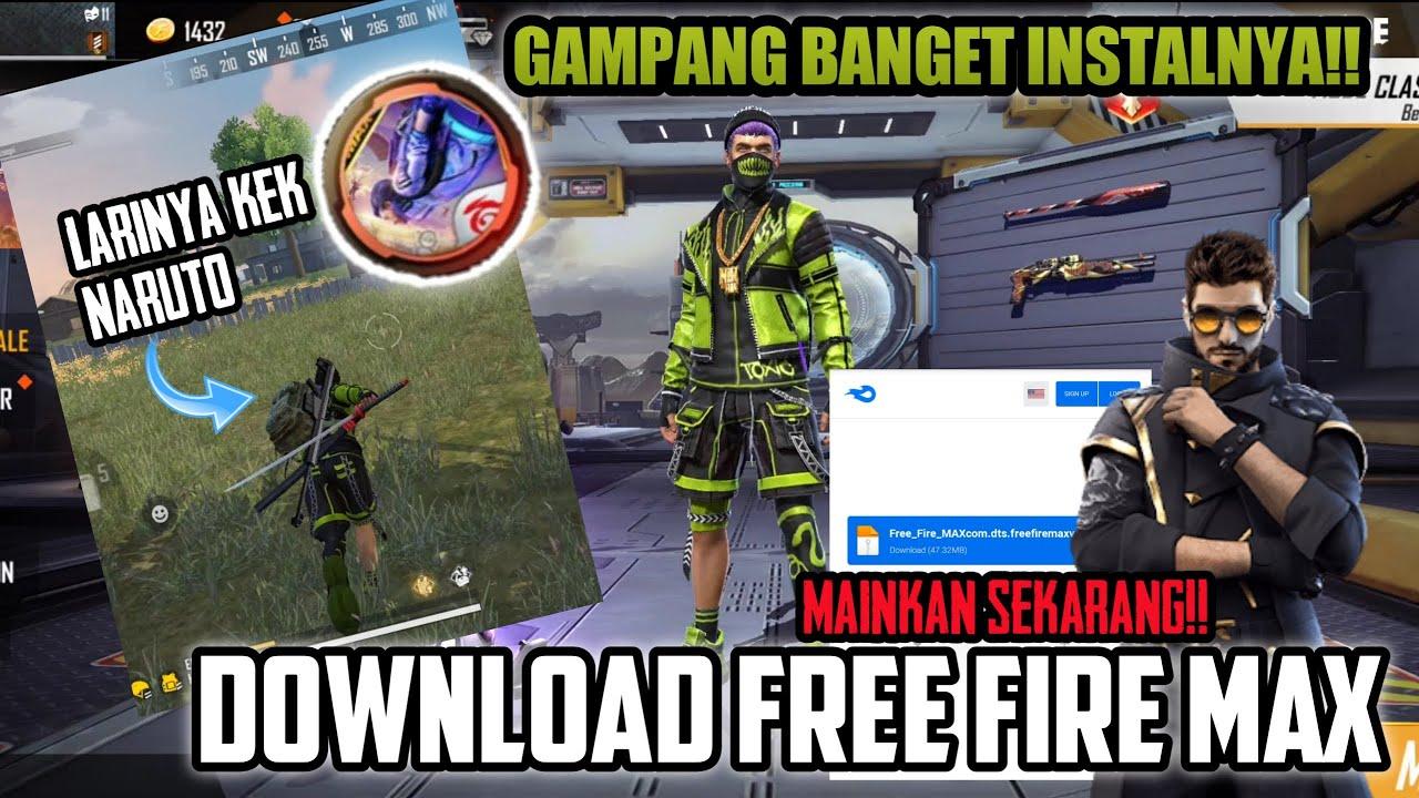 CARA DOWNLOAD FREE FIRE MAX TERMUDAH !!! UDAH GAK BURIK LAGI, MAIN BERASA TURNAMEN