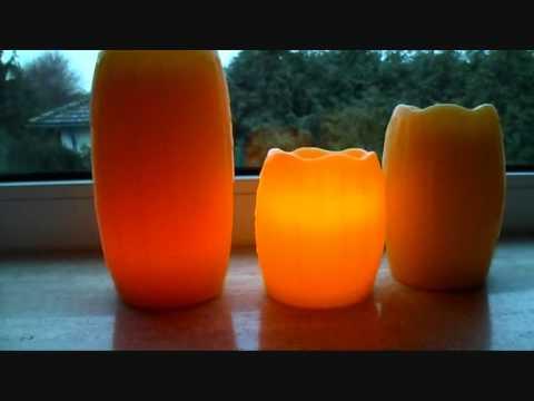 Produkttest Flammenlose Kerzen Von Qvc Bei Yuly Testet Youtube