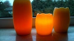 """Produkttest """"Flammenlose Kerzen von QVC"""" bei Yuly-Testet"""