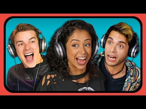 YOUTUBERS REACT TO YOUTUBE REWIND 2016 thumbnail