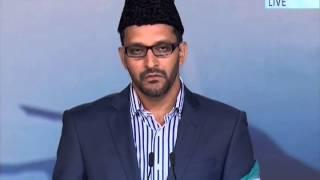 Tilawat Al-Shu`ara' verses 1-10 Jalsa Salana UK 2014 (Saturday)