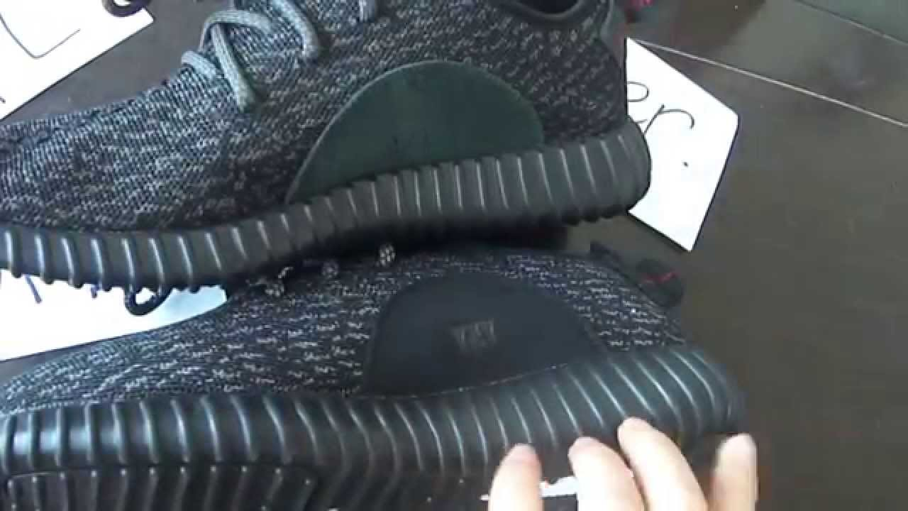 Adidas Yeezy Boost 350 Pirate Black Real Vs Fake