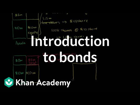 Introduction to bonds | Stocks and bonds | Finance & Capital Markets | Khan Academy