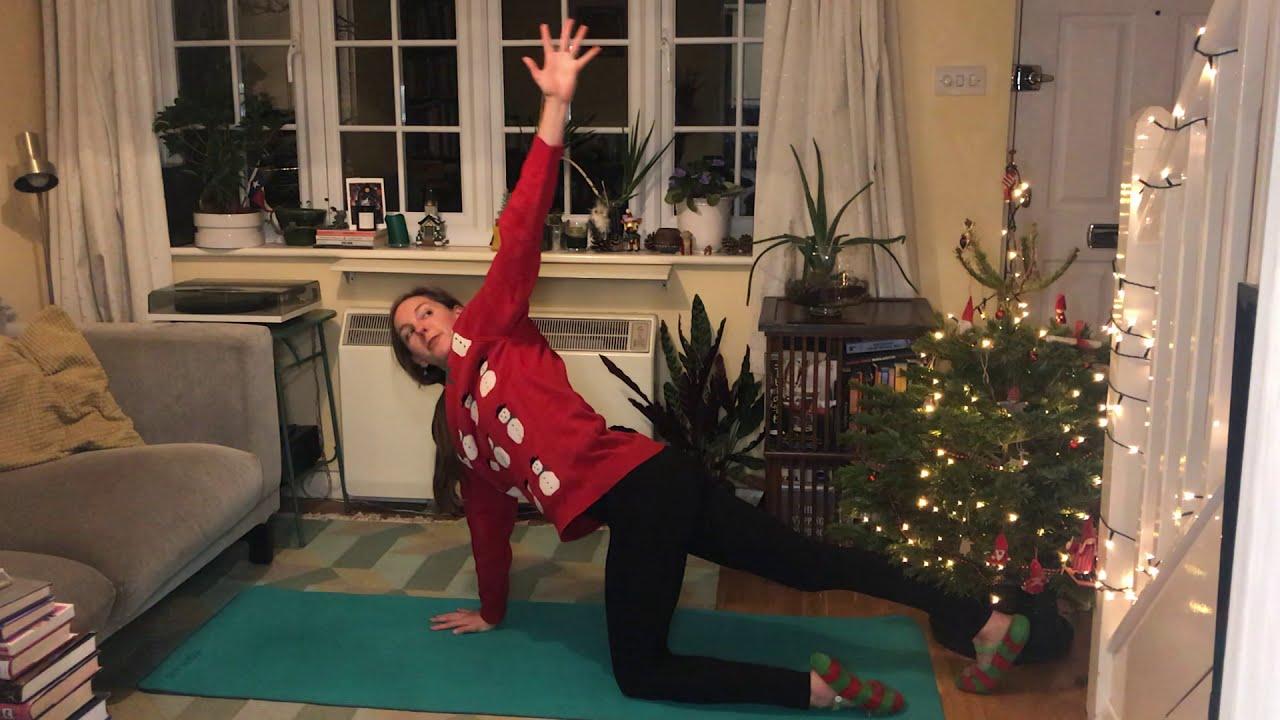 Pilates Holiday Shoulder Tension Release - 10 mins