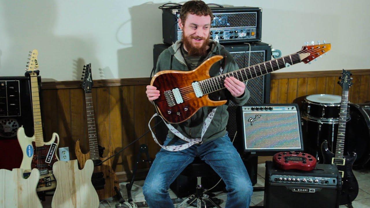 extended range guitar youtube