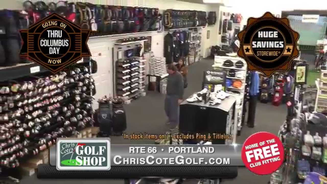 chris cote golf october tent sale 30 tv youtube. Black Bedroom Furniture Sets. Home Design Ideas
