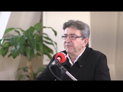 Jean-Luc Mélenchon était l'invité de RTL le 11 avril 2017