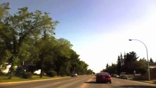 "Calgary Time Lapse Drive 10 - To the Rez - ""Mister Kingdom"" Electric Light Orchestra"