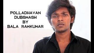 polladhavan Movie | Dhanush best acting hospital scene | Dubsmash | by Bala Ramkumar