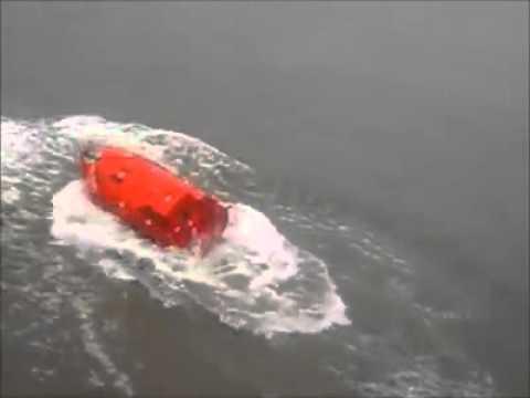 Wodowanie szalupy ratunkowej