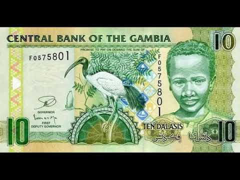 Paper money Gambia - Dalasi of the Gambia - banknotes - banknotes