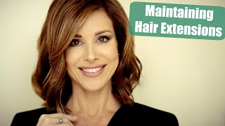 Re-taping & Maintaining Hair Extensions FAQ