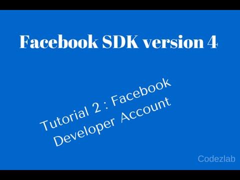 Facebook app development tutorial php.