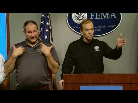 WATCH: FEMA leaders discuss the status of hurricane relief efforts