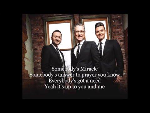 Somebody's Miracle - Brian Free and Assurance Lyrics
