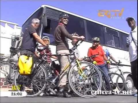 Eritrean news - Cycle Tourists visits Eritrea - International Tournament by Eri TV