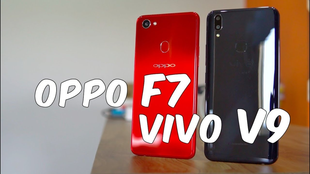 eacf3a135cc OPPO F7 vs Vivo V9 Comparison - Which one is better  - YouTube