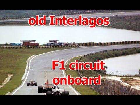 Old Interlagos F1 circuit onboard 1987