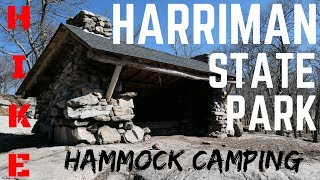 Appalachian Trail Hammock Camping - New York