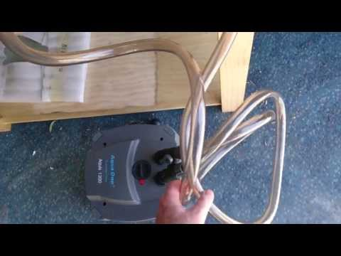 How to prime an Aqua One canister filter!