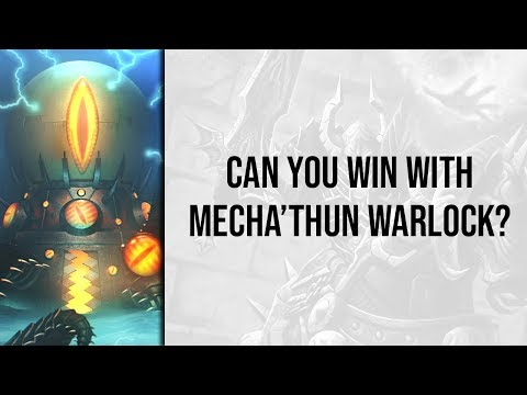 Meati's #1 Wild Legend Mecha'thun Warlock | Rastakhan's Rumble | Hearthstone