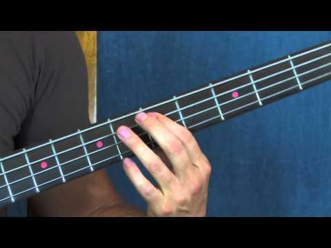 beginner bass guitar lesson come on eileen dexys midnight runners