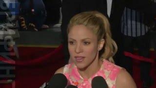 Шакира представила в Голливуде новый диснеевский мультик