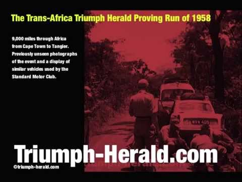 Triumph Herald Prototypes - Proving Trip Through Africa