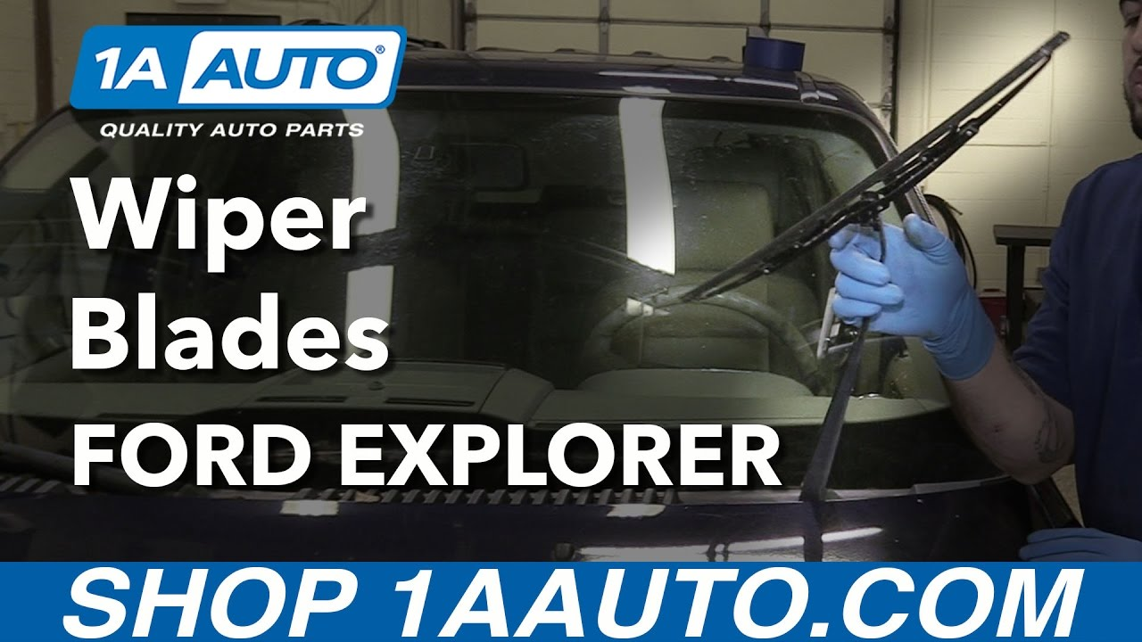 How To Replace Windshield Wiper Blades 06 10 Ford Explorer