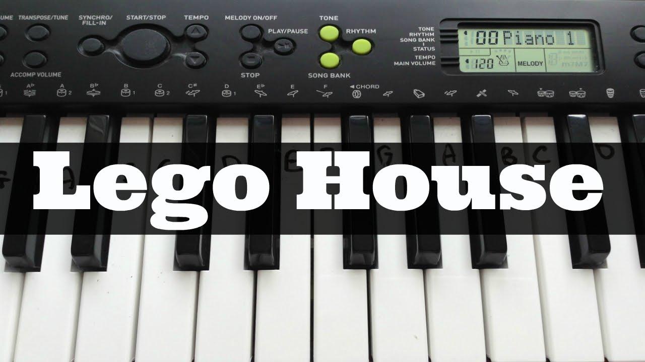 Lego house ed sheeran easy keyboard tutorial with notes right lego house ed sheeran easy keyboard tutorial with notes right hand youtube hexwebz Images