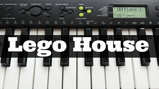 Lego House - Ed Sheeran | Easy Keyboard Tutorial With Notes (Right Hand)