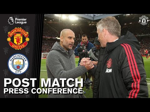 Post Match Press Conference | Manchester United v Manchester City | Ole Gunnar Solskjaer