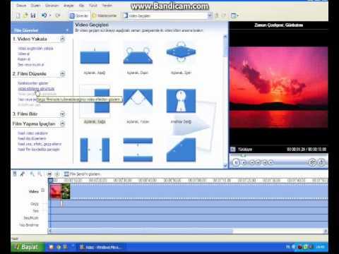 Windows  Movie Maker Kullanımı  Türkçe