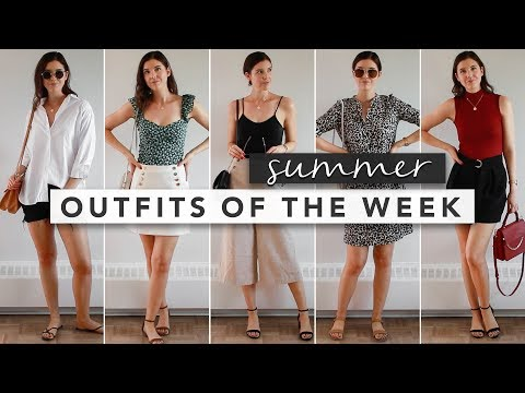 Fashion Finds - Summer Outfits from Monday to Friday | OOTW