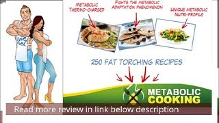 Metabolic Cooking Reviews! Guaranteed No A scam! Recipes foods- fat loss cookbook by karine losier