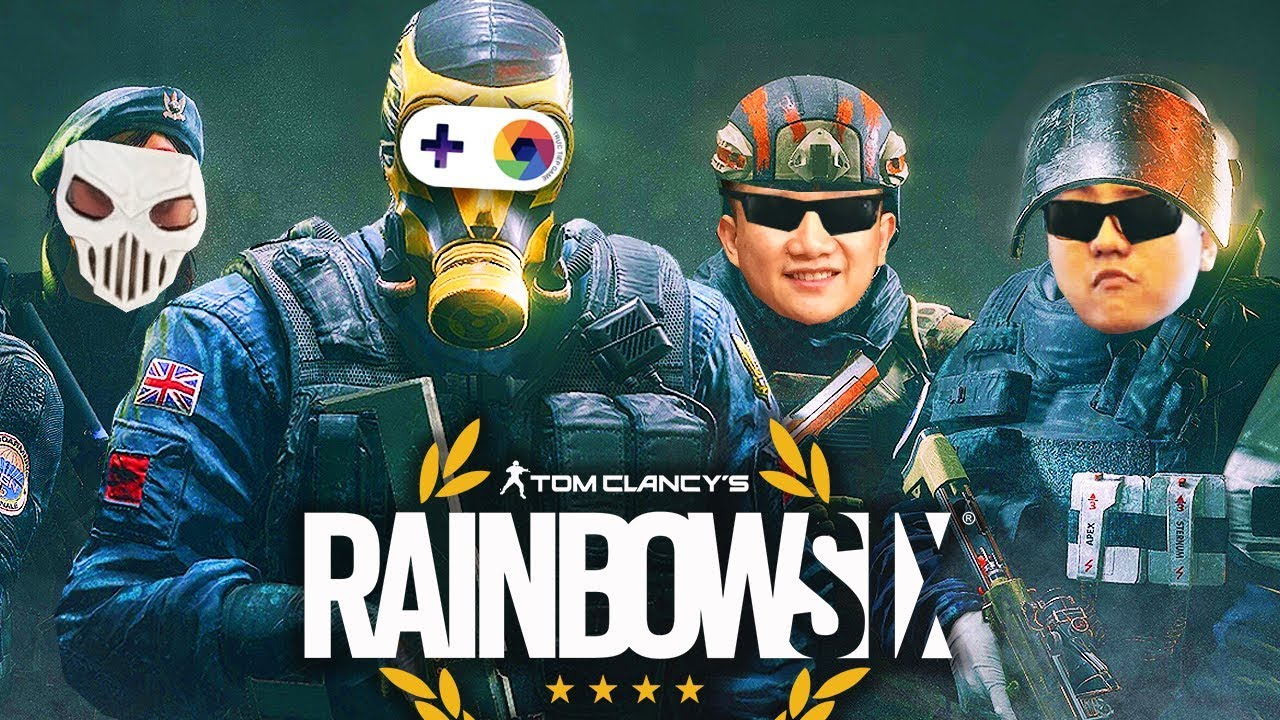 RAINBOW SIX SIEGE #1: ĐỘI ĐẶC NHIỆM SWAT ĐỤT TRÌNH LÀNG !!! Tất cả hãy quỳ xuống =)))