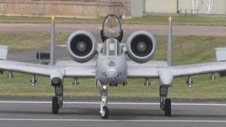 A-10C Thunderbolt II  RIAT 2011 Rehearsals