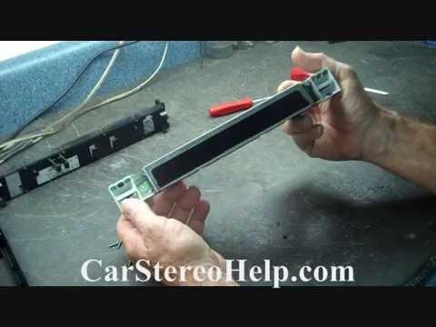 Mazda 6 Audio Display Repair 2003 - 2005