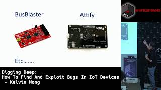 #HITB2018AMS CommSec D1 - How to Find and Exploit Bugs in IoT Devices - Kelvin Wong