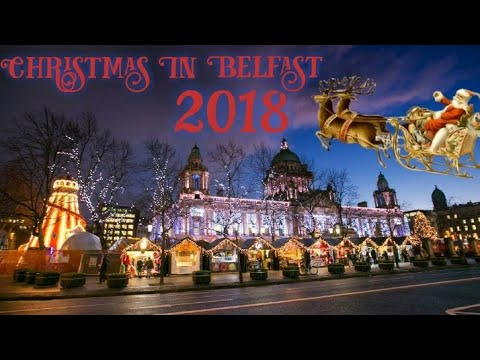 Christmas In Belfast 2018 (Christmas Market , Victoria Square, Build A Bear And Santa )