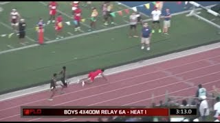 Greatest 4x400m Comeback In Track & Field History!