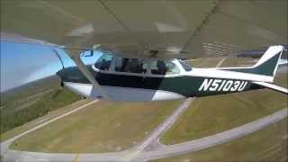 Flying Cessna 172RG