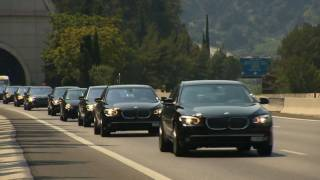 200 BMW 7 for the Wedding of HSH Prince Albert II of Monaco [HD]